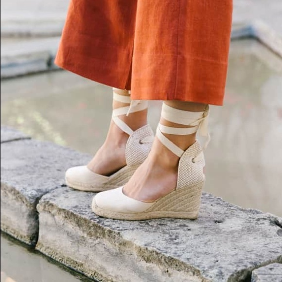 2fdd5d574b64 SOLUDOS Wedge Lace-Up Espadrille Sandal